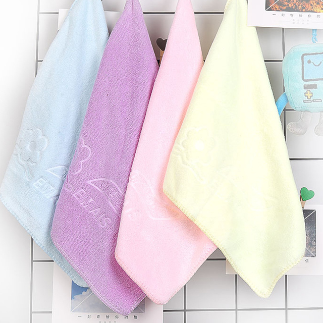 2019 HOT 3 sztuk losowy kolor ściereczka czyszcząca z mikrofibry zagęścić miękki ręcznik miska/kubek/Pot czystej szmatki łazienka akcesoria kuchenne