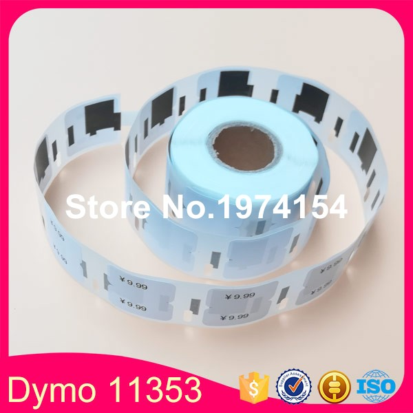 30 Rolls Dymo Compatible 11353 Label 12mm*24mm 1000Pcs/Roll Compatible for LabelWriter 400 450 450Turbo Printer  SLP 440 450-in Printer Ribbons from Computer & Office    1