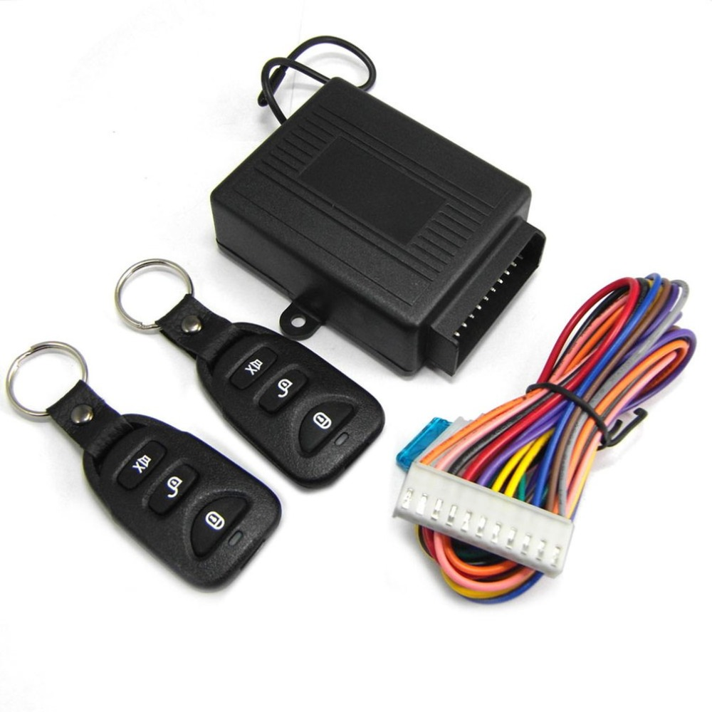 M602-8113 1-Way Car Keyless Entry System Without Siren For 12V DC KIA Which Has Central Door Lock System