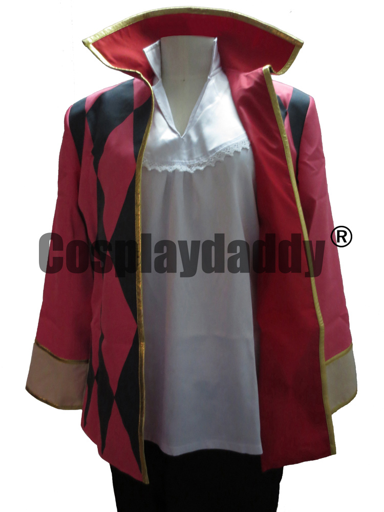 Howl's Moving Castle Howl Coat Jacket Cosplay Costume anysize F008