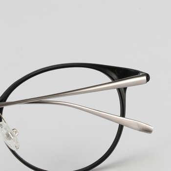 High Quality TR90 Round Glasses Frame Men Vintage Prescription Eyeglasses Myopia Optical Frame Women Eyewear