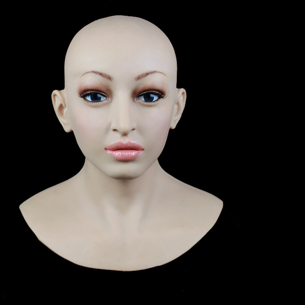 [SF-12] Top quality masquerade masks for men,crossdresser silicone female mask, realistic masks for christmas and halloween sf 9 2015 new realistic silicone masks female masking for crossdresser shemale realistic masks