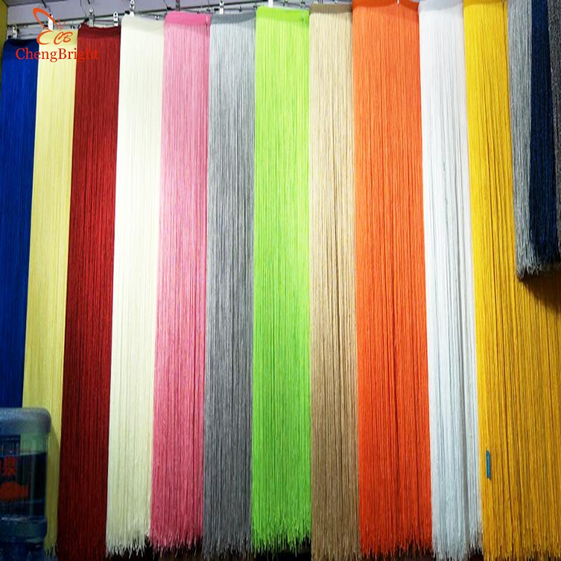CHENGBRIGHT 5 Yard 100CM Long Lace Fringe Trim Tassel Fringe Trimming For Diy Latin Dress Stage Clothes Accessories Lace Curtain