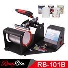 New Red Handle Mugs Sublimation Mug Press Machine Mug Heat Press Printer Heat Transfer Machine 11oz Cup Printing