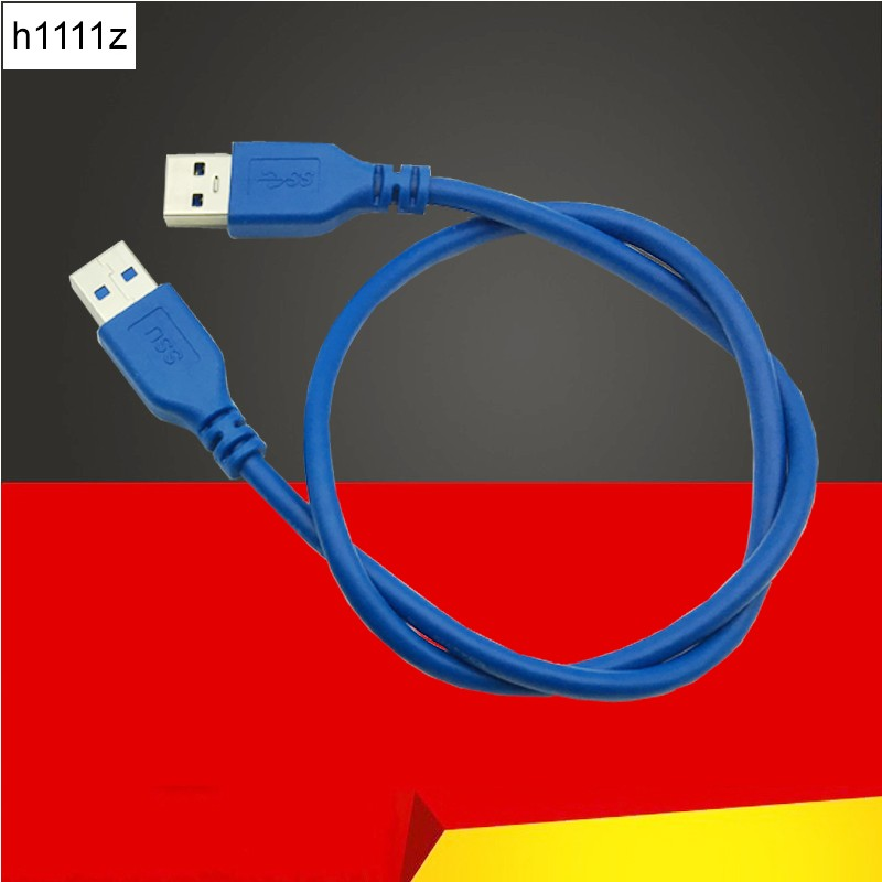 USB 3.0 Cables 5Gbps Type A Male to Type A Male 6FT 0.6m Extension Data Sync Cord Cable Blue Color for Bitcoin Mining 1m 1 8m 3m e sata esata male to male extension data transfer cable cord for portable hard drive 3ft 6ft 10ft