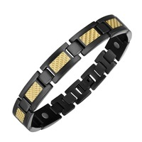2018 Moocare Titanium Health Strong Magnetic Bracelet Health Strong Magnetic Bracelets For Men Women