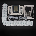 JR-309 Electric Slimming Full Body Relax Pulse Muscle Stimulator tens therapy machine massager vibrateur + 16 Electrode Pads