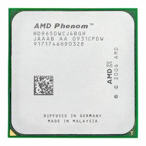 Amd phenom x4 9650 cpu 2.3 ghz 95 w quad core socket am2 +