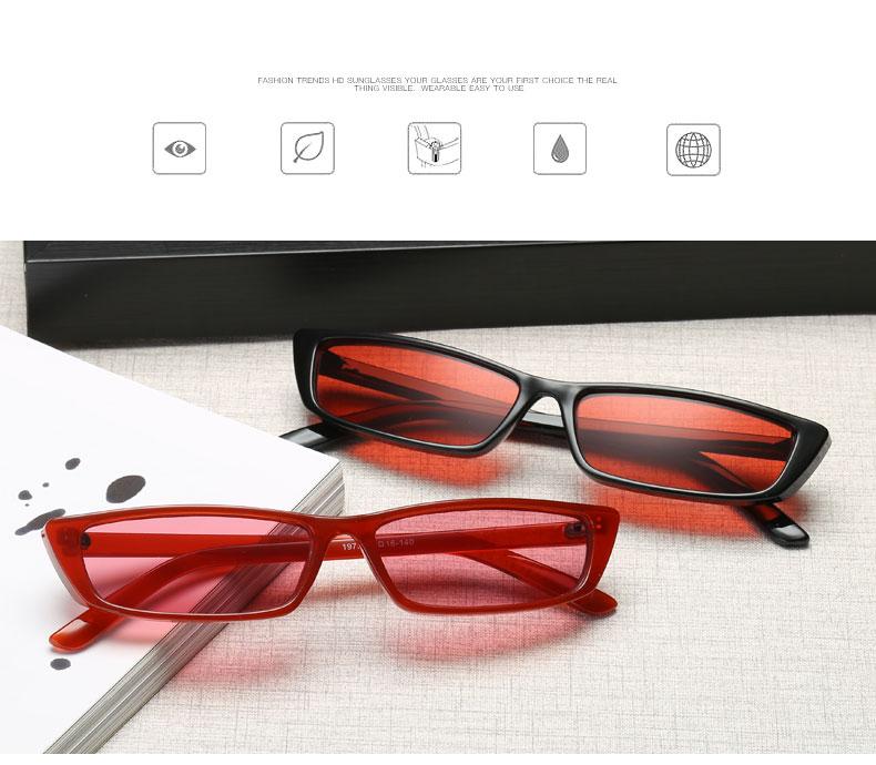 HTB15HzzhYYI8KJjy0Faq6zAiVXaG - Vintage Rectangle Sunglasses Women Brand Designer Small Frame Sun Glasses Retro Black Eyewear