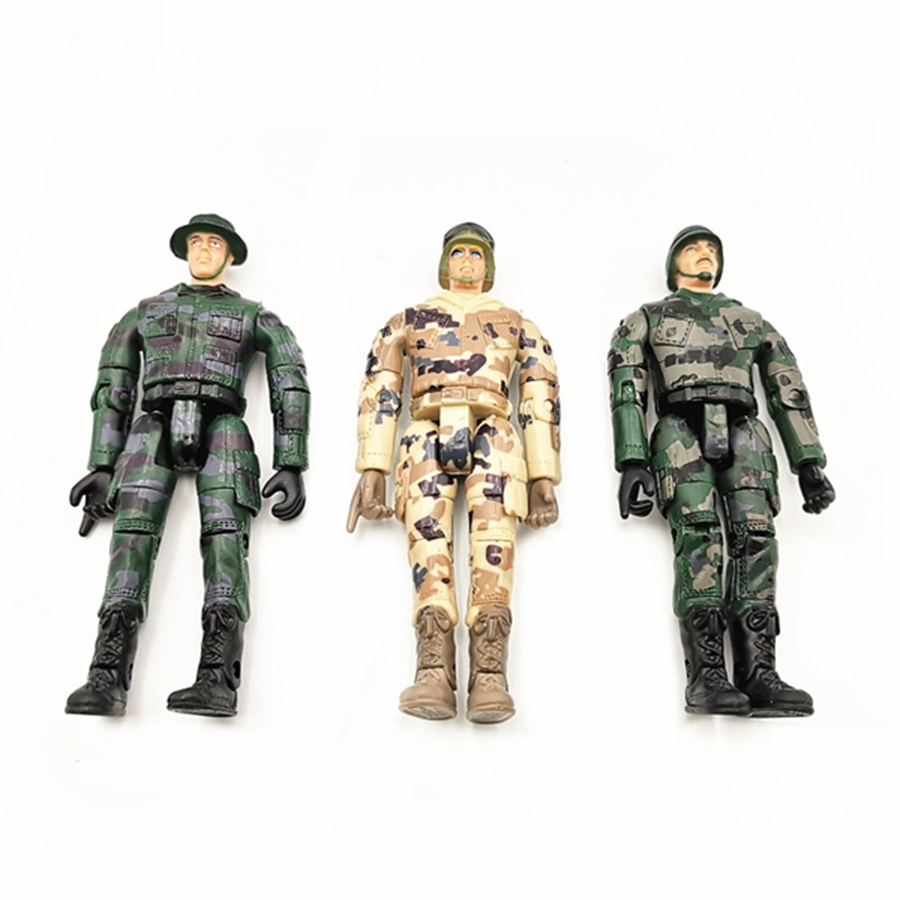 Soldier 10CM Doll Adjustable 9
