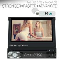 3G Dongle 7inch Single Din Android 6 0 Car Stereo In Dash DVD Player GPS Radio