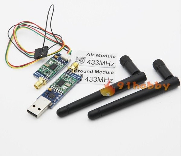 HK Free shipping+CRIUS 3DR Radio 433Mhz air Module for Telemetry for APM 2.5 1 piece hk free shipping for xiaomi4 m4 mi4 100