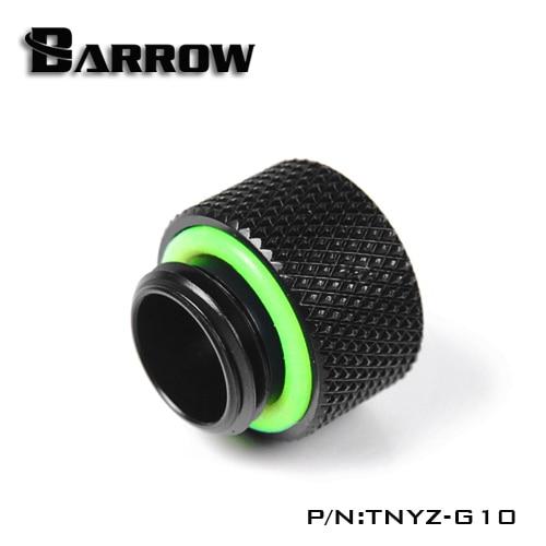 Barrow TNYZ-G10, 10mm Male To Female Extender Fittings, G1 / 4 Male To Female Water Cooling Fittings  Ethernet Wall Plate