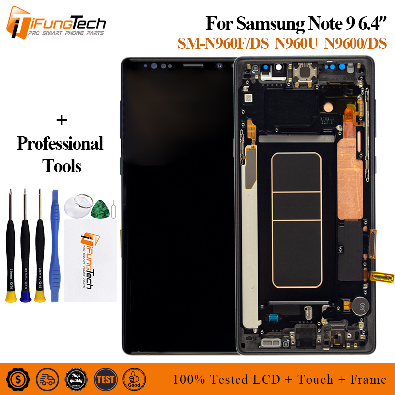 For Samsung Galaxy Note 9 N960 LCD Display Touch Screen Digitizer Assembly 6 4 For Samsung