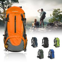 Lixada 50L Water Resistant Outdoor Sport Hiking tactical backpack Climbing Backpacking Trekking Bag Knapsack with Rain Cover