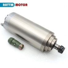 3KW Water cooled spindle motor 220V 24000rpm ER20 100x220mm 400Hz for CNC Router цены