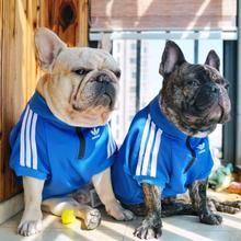 Dog Clothes Adidog French Bulldog Shirt Dog Sweater Sport Retro Chihuahua Cat Sh