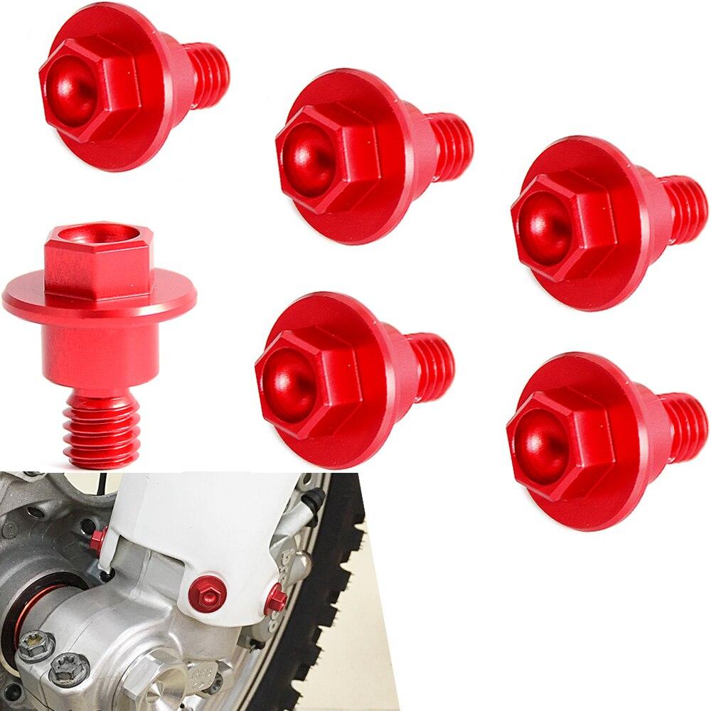 Fourche avant Garde Boulon Vis Pour Honda CR125R CR250R CRF250R CRF250X CRF450R CRF450X CRF450RX CRF250L/M CRF250 RALLYE XR 250 400