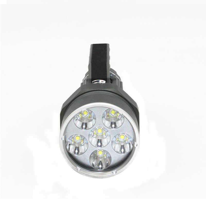 Lặn Ánh Sáng 6 x L2 7200LM Lặn đèn pin Chống Thấm Nước đèn Scuba Dưới Nước 100 M làm việc torch + 2x32650 pin + Sạc