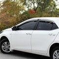 2012 2013 2014 2015 4 Pçs/set ELANTRA Vento Chuva/Sun Visor Ventilação Guardas, mapas & Abrigos para Hyundai ELANTRA