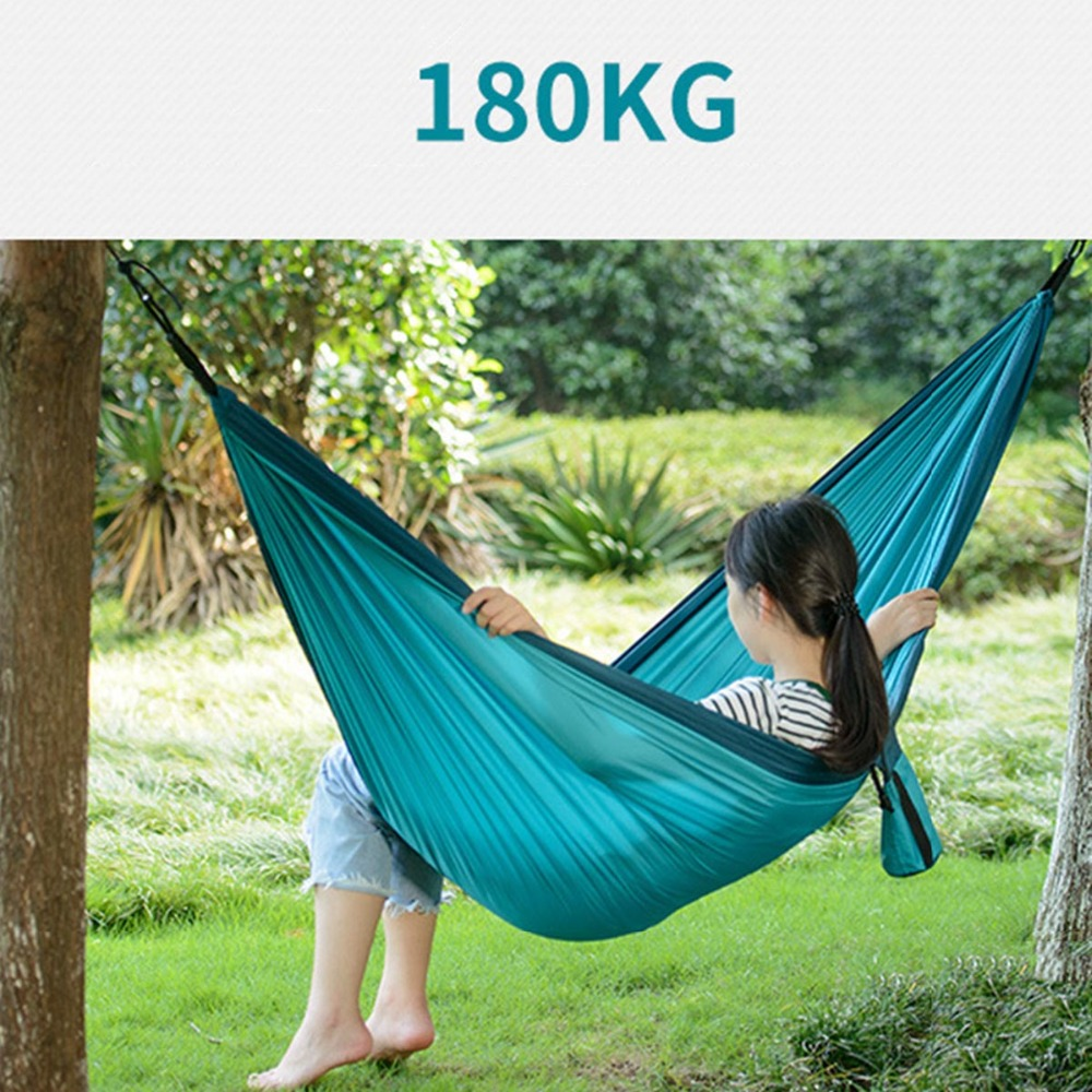 Image 5 - NatureHike Ultralight Hammock Outdoor Camping Hunting Hammock Portable Double person HAMMOCK NH17D012-in Outdoor Tools from Sports & Entertainment