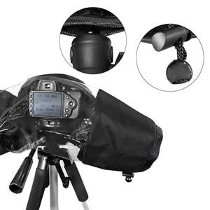 Image 4 - Besegad עמיד למים מים הוכחת מצלמה גשם כיסוי Rainshade מגן מקרה מעיל עבור מצלמות DSLR Canon Nikon Sony Pentax