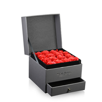 CHAMSS New High Quality Jewellery Set Box Boutique Jewelry Gift Box Rose Flower Jewelry Noble Gift Box