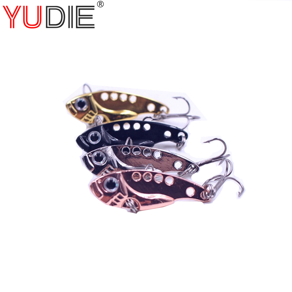 1Pcs 3.5g 3cm Gold Metal VIB Hard Lure Sea Carp Fly Fishing Spinner Bait Accessories Jig Hooks Tool Wobblers Fish Sport lures mnft 1 bottle of 40g viscose bait carp glue gluey fishing lure tool