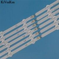 עבור lg 10 מנורת LED אחורית ברצועת עבור LG 50LN541U 50LN541V 50LN542V 50LN549C 50LN549E 50LN550V -ZB ZA ZC קורות להקות LED קיט טלוויזיה (5)