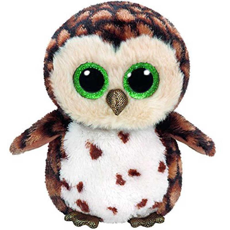 Ty Beanie Boos Plush Animal Doll Sammy the Brown Owl Soft Stuffed Toys No  Tag 6 4b70db7f5b45