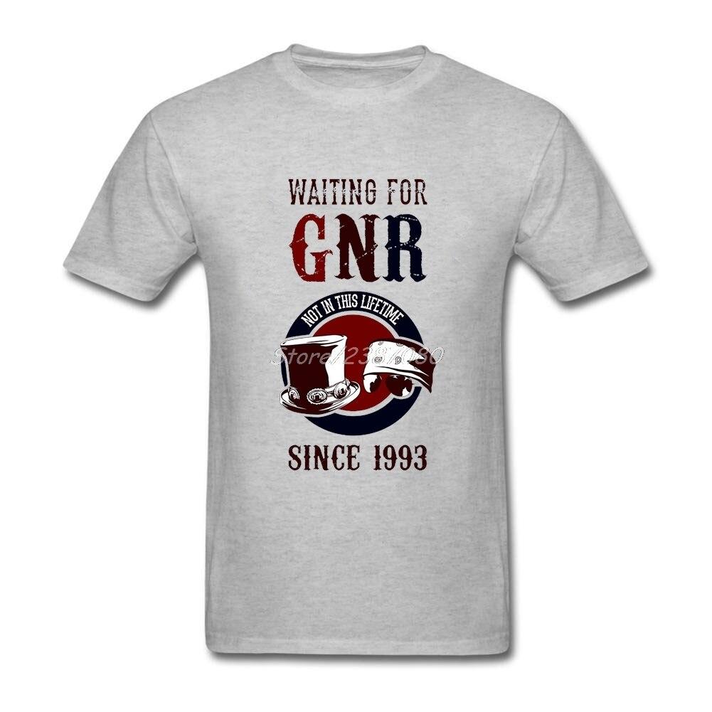 New Guns N Roses T Shirt Hot Selling Men's T-shirts Cotton Crewneck Big Size Short Sleeve  T Shirts