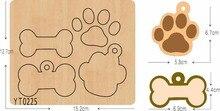 Ossa e artigli FAI DA TE in legno die utensile da taglio die /YT0225/Scrapbook muffa