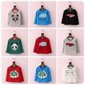 Korean Girl Garment 16 Autumn  Winter New Pattern Down T-Shirt  Unlined Garment Children Thickening Warm Pullover