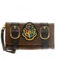 Fashion Wristband Clutch Wallets Harry Potters Hogwarts Castle Crest Envelope Satchel Fold Wallet Purse with Tag