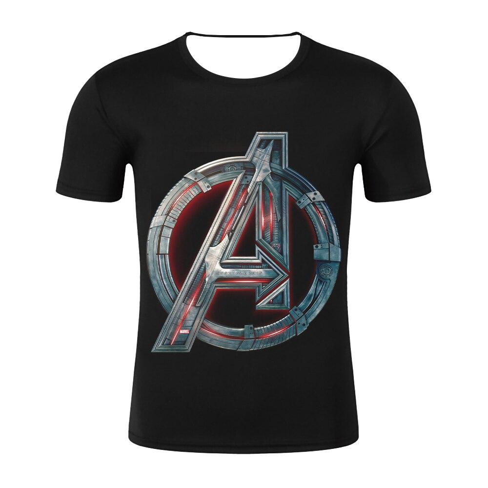 2019 The Avengers 4 Endgame Tshirt Summer Newest Men   T     Shirt   Avenger Road Superhero Design   T  -  Shirt   Casual Short Sleeve