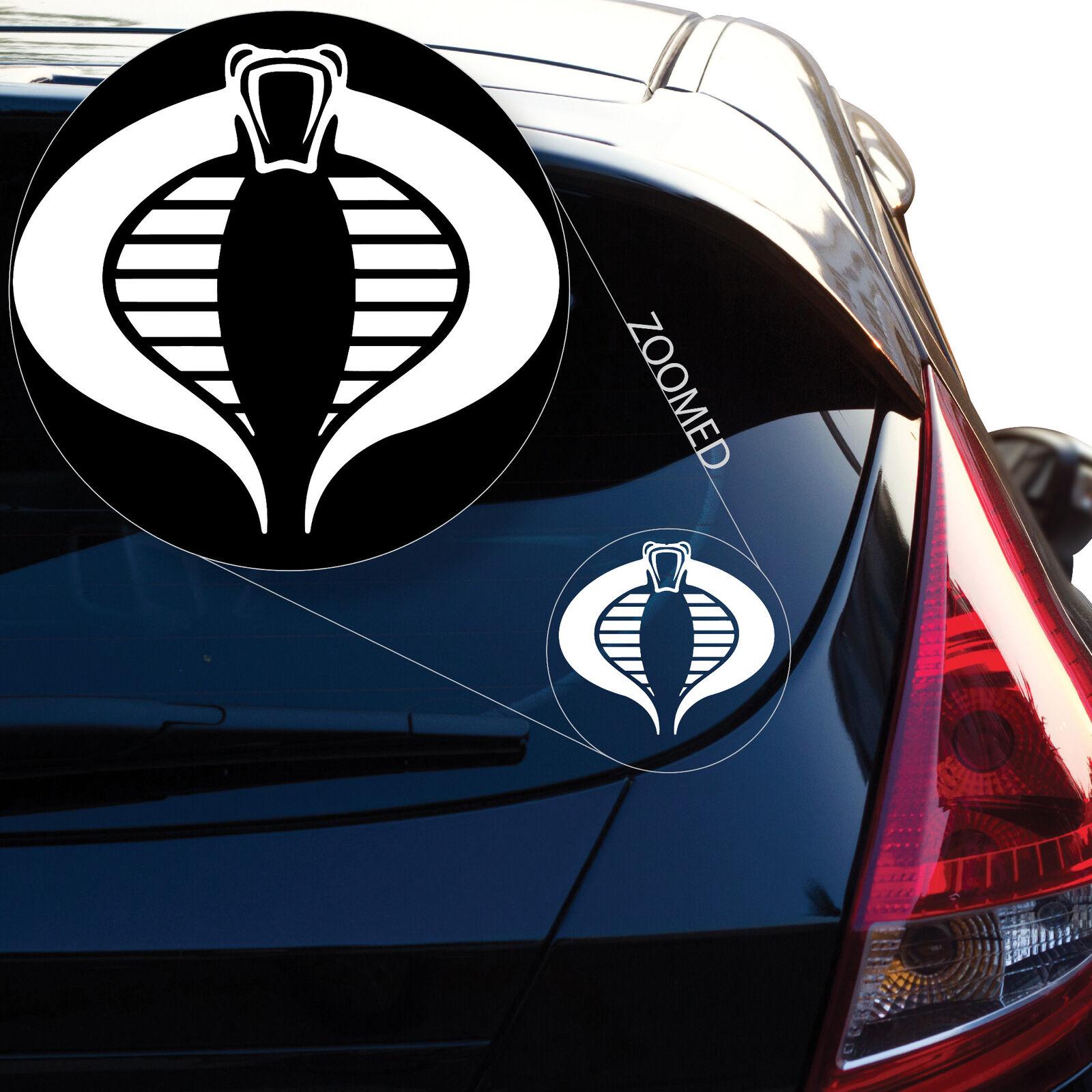 G.I. Joe Team inspiriert Cobra Vinyl Command Decal Aufkleber