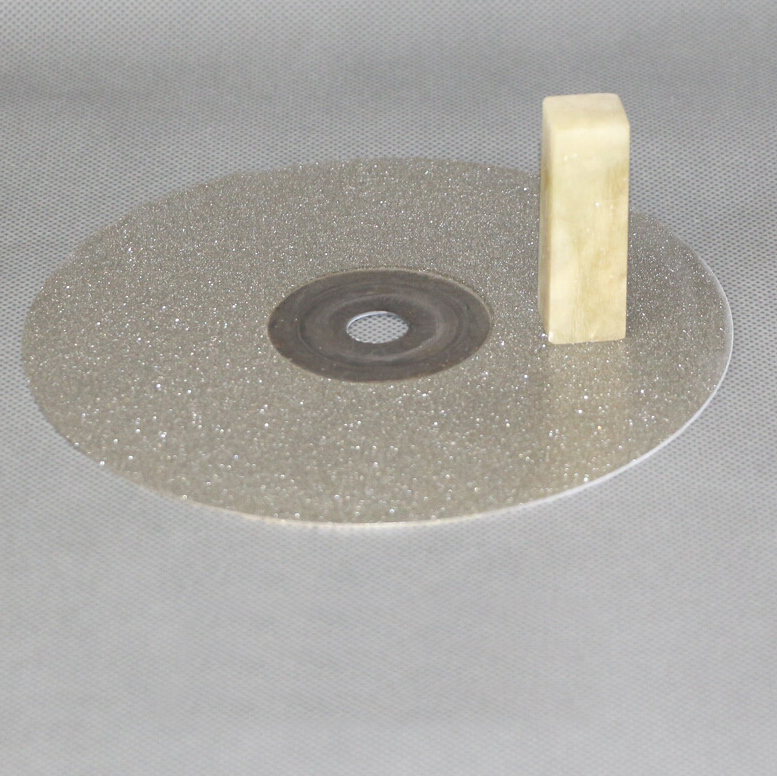 9 inch kitchen font b Knife b font diamond plate whetstone round Diamond chassis sharpener for