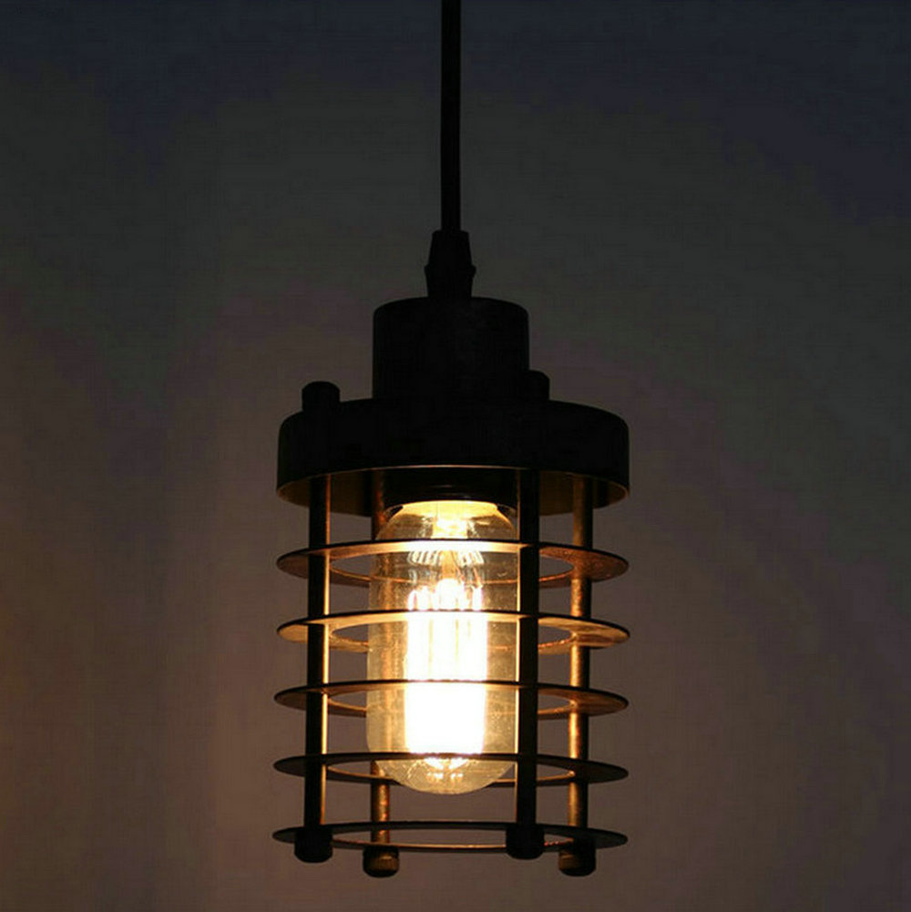 110v,220v Loft Vintage hanglamp fixtures E27 bulbs Iron Pendant Lights, hanging lamp Edison vintage industrial lighting dining loft industrial rust ceramics hanging lamp vintage pendant lamp cafe bar edison retro iron lighting
