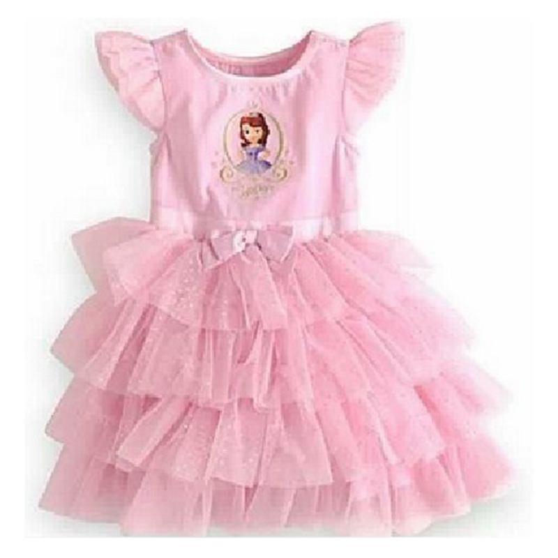 Summer Cute Vestido Minnie Princesa Sofia Girls' Dresses Infant Party Dresses Kids Clothes Children's Clothing Baby Girls Dress princesa extra 310 мл arcoroc