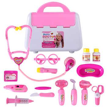 15Pcs/Set Children Pretend Play Doctor Nurse Toy Set Portable Suitcase Medical Kit Kids Educational Role Play Classic Toys - DISCOUNT ITEM  28 OFF Toys & Hobbies