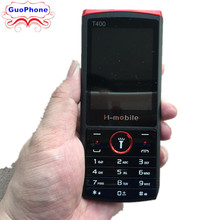 H-Mobile T400 Phone 2.8″ Dual SIM Card Bluetooth Flashlight MP3 MP4 FM Camera Loudspeaker Cheap CellPhone