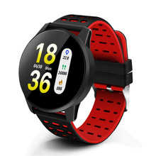 Heart Rate Monitor Smart Watch Men Blood Pressure Waterproof
