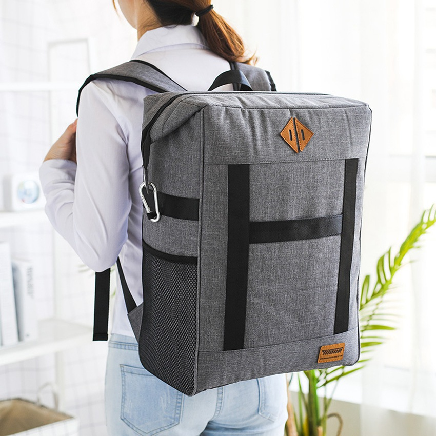Large Capacity Lunch Bag New Fashion Thermal Insulated Bag Casual Thermo Food Picnic Bag Long-lasting Insulation Refrigeration