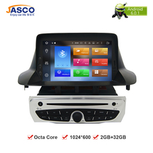 "7 ""Octa Core Android Coches Reproductor de DVD GPS Glonass de Navegación para Renault Megane 3 Fluence 2 GB RAM 32 GB ROM Multimedia Radio estéreo"
