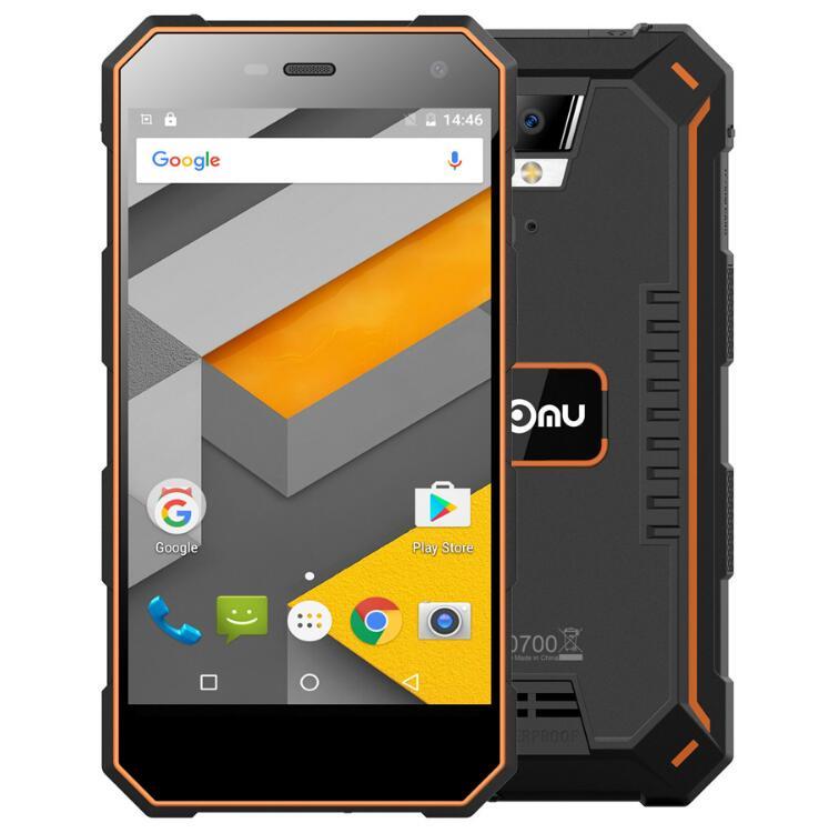NOMU S10 PRO 3 gb 32 gb Extérieure 4g SmartPhone 5.0 pouce HD MT6737T Quad Core 8MP + 5MP android 7.0 OTG IP68 Étanche antichoc