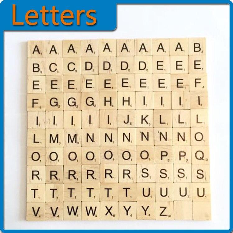 Scrabble Letters A Z