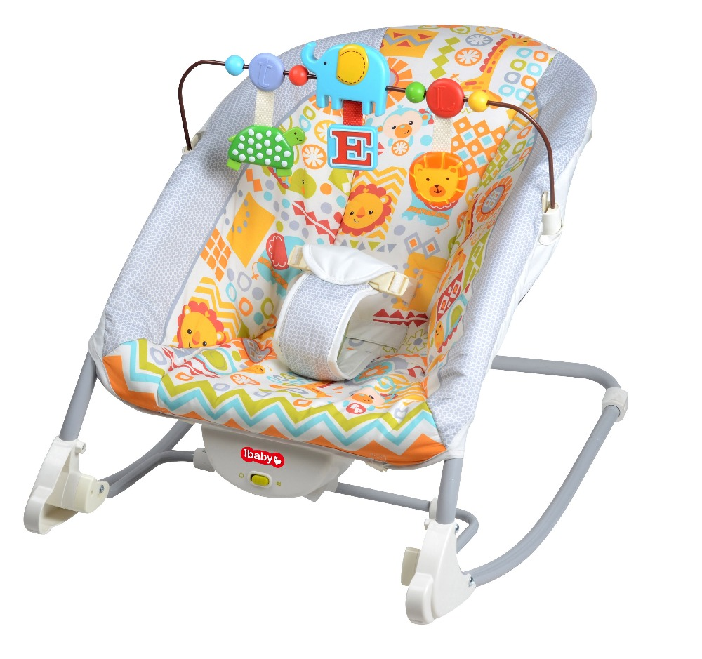 Baby Rocker Chair - Free shipping maribel mental baby rocking chair infant bouncers baby kids recliner vibration swing cradle with music