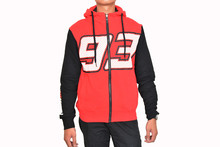F1 racing Moto GP Red Marc Marquez 93 Hoodie adults Motorcycle Jacket