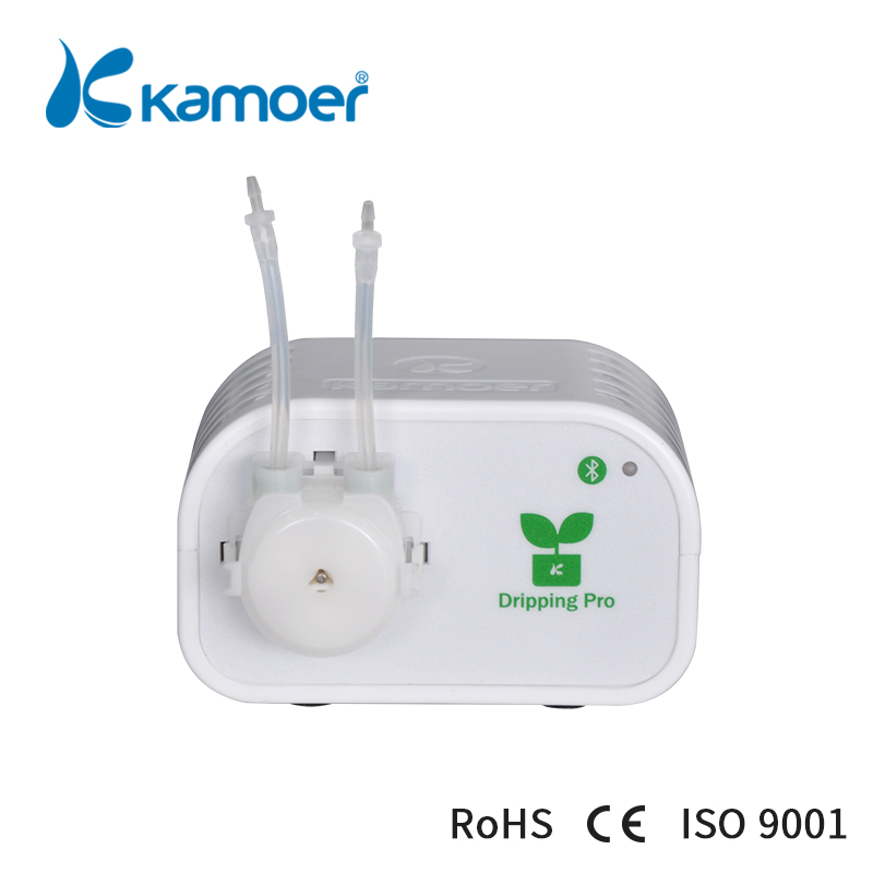 Kamoer Auto flower pot watering system with Bluetooth connection to Drip Irrigation plant and succulent
