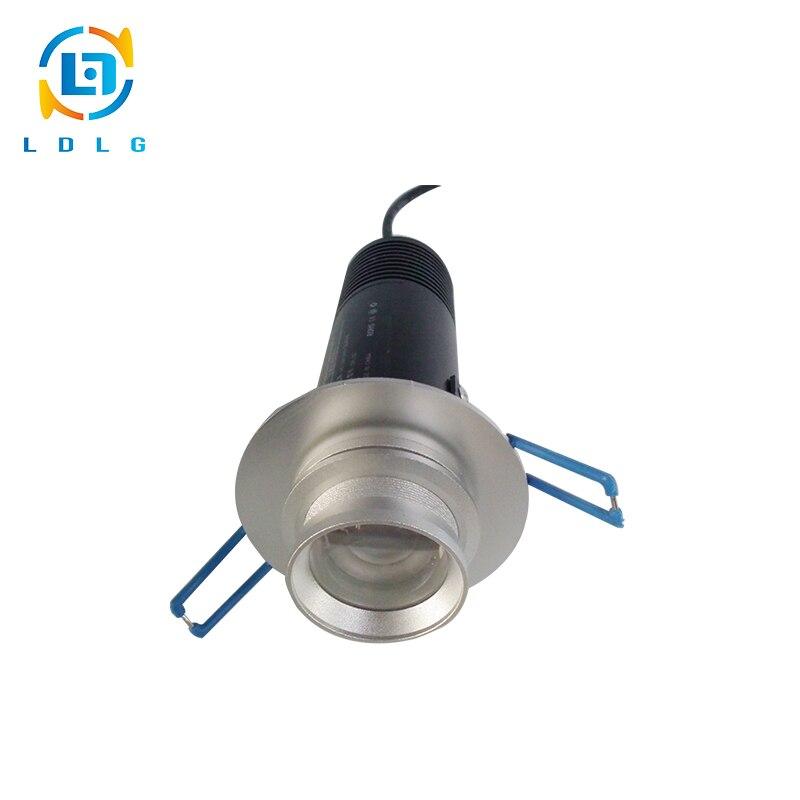 Светодиодный 10 Вт Gobo логотип проектор Light 1200lm нержавеющие Алюминий сплав indoor рекламы логотип светодиодный Гобо проектор Освещение 10 вт